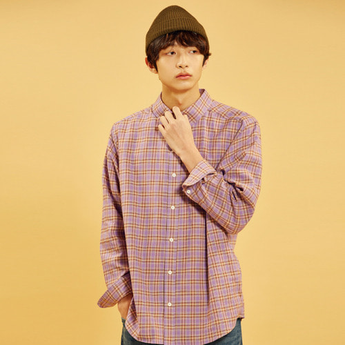 언리미트 Check Shirts (U18ATSH10)