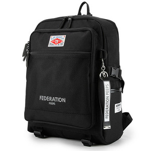 핍스 PEEPS federation backpack(black)