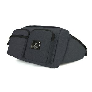 몬스터리퍼블릭 MARVELOUS WAIST BAG ver.2 / BLACK