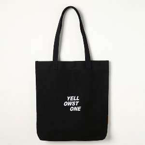 옐로우스톤 에코백 LOGO CANVAS BAG -YS2094BY /BLACK