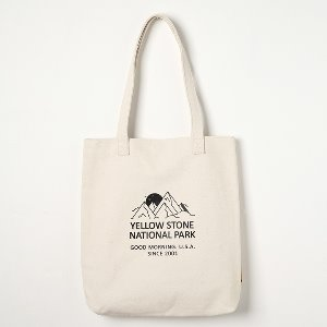 옐로우스톤 에코백 MOUNT CANVAS BAG -YS2094IM /IVORY