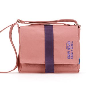 [핍스] 미니크로스백 PEEPS open mind mini cross bag(indy pink)