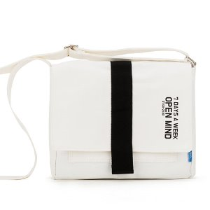 [핍스] 미니크로스백 PEEPS open mind mini cross bag(ivory)