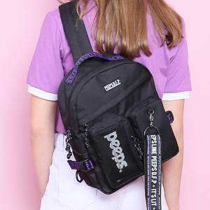 [핍스] 슬링백 PEEPS advance2 sling bag(black)