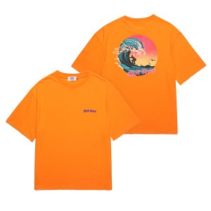[유니온오브제] 반팔티 UNION SUN WAVE T-SHIRT - ORANGE