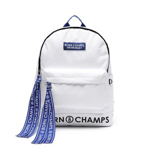 [유니온오브제] 백팩 BORNCHAMPS X UNIONOBJET TAPE BAG WHITE
