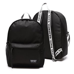 [유니온오브제] 백팩 CANVASBAG BLACK (WHITE BLACK)