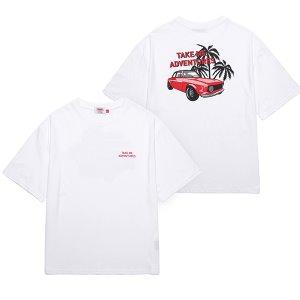[유니온오브제] 반팔티 UNION ADVENTURE T-SHIRT - WHITE