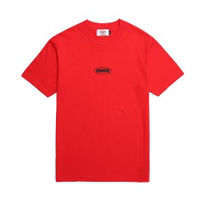 [유니온오브제] 반팔티 UNION BASIC LOGO T-SHIRT - RED