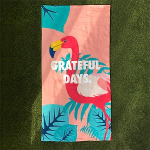 [유니온오브제] 비치타올 UNIONOBJET FLAMINGO BEACH TOWEL