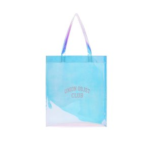 [유니온오브제] 에코백 UNIONOBJET CLUB PVC ECO BAG - HOLOGRAM