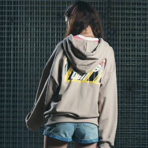 [핍스] PEEPS OGI hood zip up(beige)_핍스 후리스