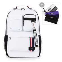 핍스 PEEPS magnum backpack(white)