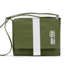 [핍스] 미니크로스백  PEEPS open mind mini cross bag(khaki)