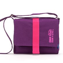 [핍스] 미니크로스백 PEEPS open mind mini cross bag(violet)
