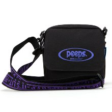 [핍스] 미니크로스백 PEEPS tiny logo cross bag(black)