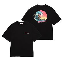 [유니온오브제] 반팔티 UNION SUN WAVE T-SHIRT - BLACK